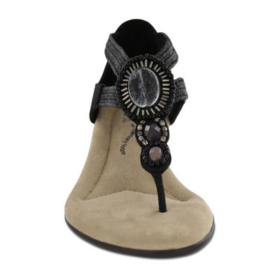 Mia Amore Womens Baylee Wedge Sandals