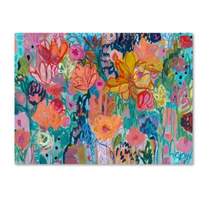 Trademark Fine Art Carrie Schmitt Exhalation 6000Giclee Canvas Art
