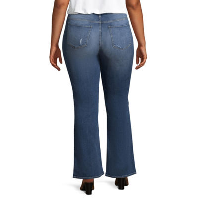 Arizona Bootcut Jeans-Juniors Plus