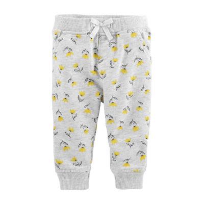 Oshkosh Pull-On Knit Pants - Baby Girls