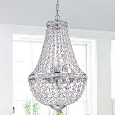 Uanah 6-Light Crystal Chandelier