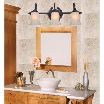 Decor Therapy 3 Light Vanity