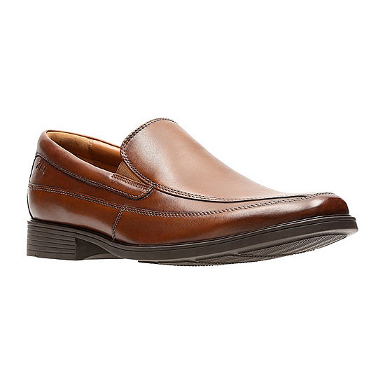 b5f70634227e7 Clarks Tilden Free Mens Leather Slip On Dress Shoes JCPenney