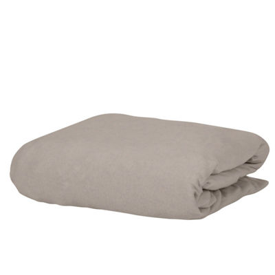 Exclusive Fabrics & Furnishing Knit Craze® 100% Premium Combed Cotton Jersey Fitted Sheet With Aloe Vera Treatment