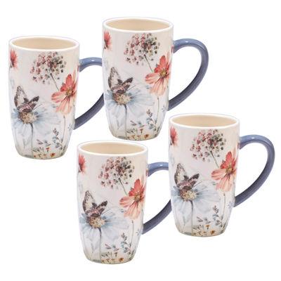 Certified International Country Weekend 4-pc. Coffee Mug
