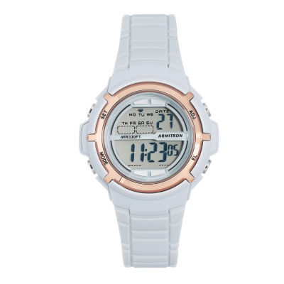 Armitron All Sport Womens Gray Strap Watch-45/7045pbl