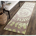 Safavieh Capri Collection Almira Geometric RunnerRug