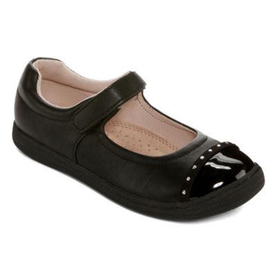 Arizona Girls Mary Jane Shoes Elastic Round Toe