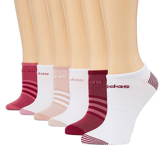 adidas Superlite 6 Pair No Show Socks - Womens