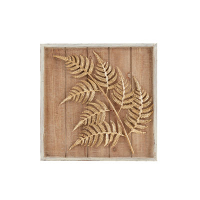 Madison Park Fern Leaf Cluster Decor