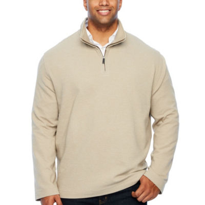 Van Heusen Flex Ottoman 1/4 Zip Quarter-Zip Pullover Big and Tall