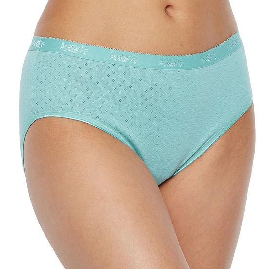 Underscore Pointelle Cotton Knit Hipster Panty