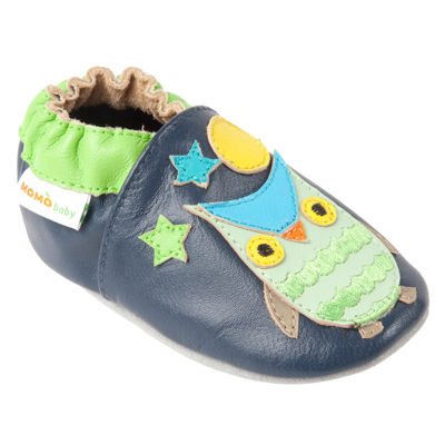 Momo Baby Boys Soft Sole Leather Shoes - Wise Owl