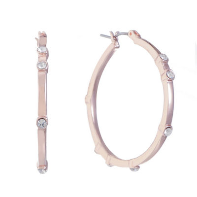 Gloria Vanderbilt 35.5mm Hoop Earrings
