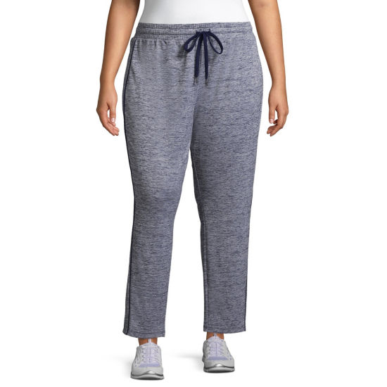 St. John's Bay Active Texture Mix Colorblock Pant - Plus
