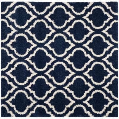 Safavieh Hudson Shag Collection Toireasa Geometric Square Area Rug