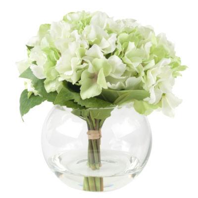 Pure Garden Hydrangea Floral Arrangement
