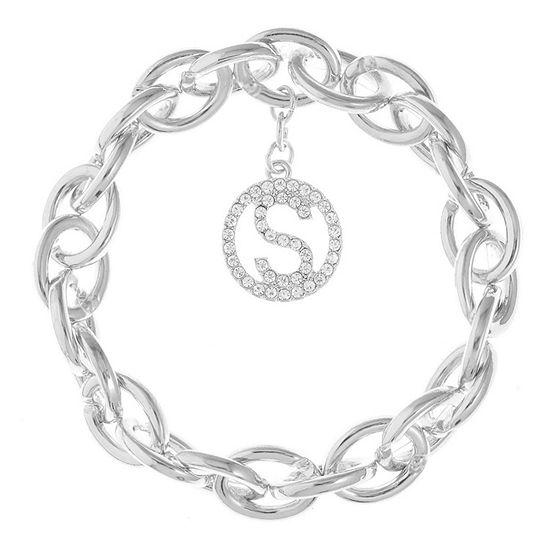 Liz Claiborne S Initial Stretch Bracelet