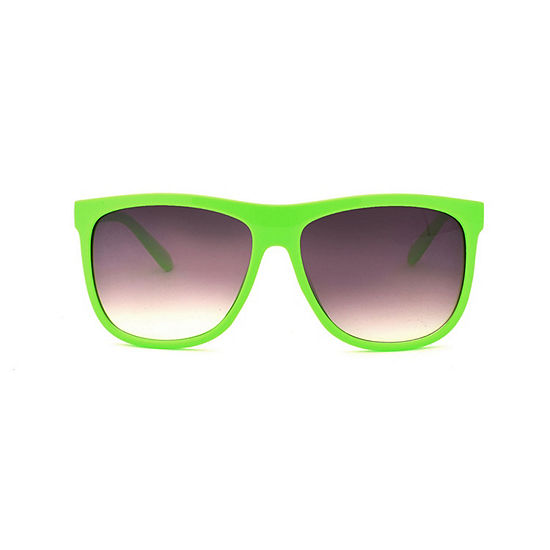 City Streets Mens Full Frame Square Sunglasses
