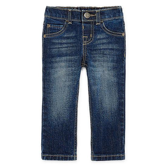 Okie Dokie Boys Pull-On Pants - Baby