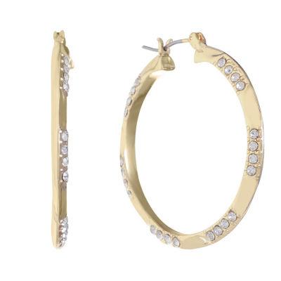 Gloria Vanderbilt 34.4mm Hoop Earrings