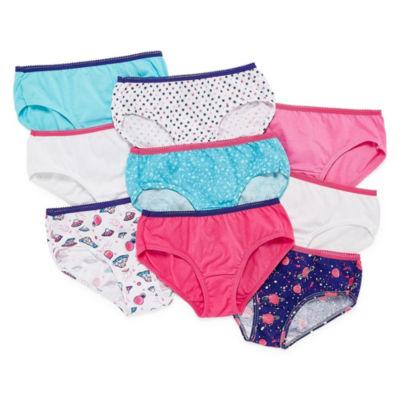 Hanes Bonus Pack Cotton Hipster Panty - Girls