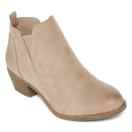 b25cf1a0875 Arizona Womens Gale Block Heel Bootie