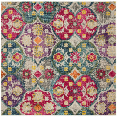 Safavieh Monaco Collection Renee Geometric Square Area Rug