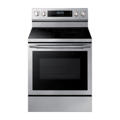 Samsung 5.9 cu. ft. Free-Standing Electric Range with True Convection and Illuminated Knobs