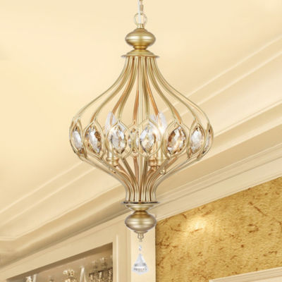 Holmdis 3-Light Gold Ornament Lamp Pendant