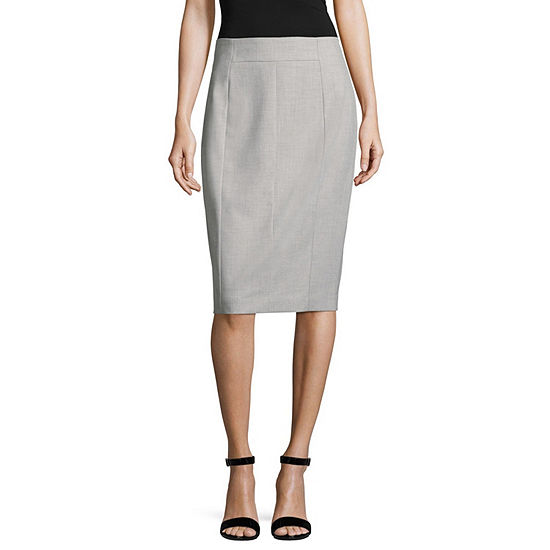Worthington Suiting Pencil Skirt - Tall 27""