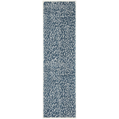Safavieh Marbella Collection Gaia Geometric Runner Rug