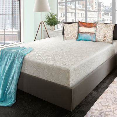 "SleepWise™ Cyprus Copper Gel Enhanced 10"" Memory Foam Mattress"