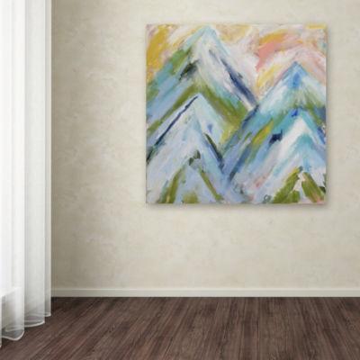 Trademark Fine Art Carrie Schmitt Colorado Bluebird Sky Giclee Canvas Art
