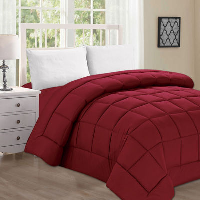 Elegant Comfort Goose Down Alternative Double-Filled Comforter