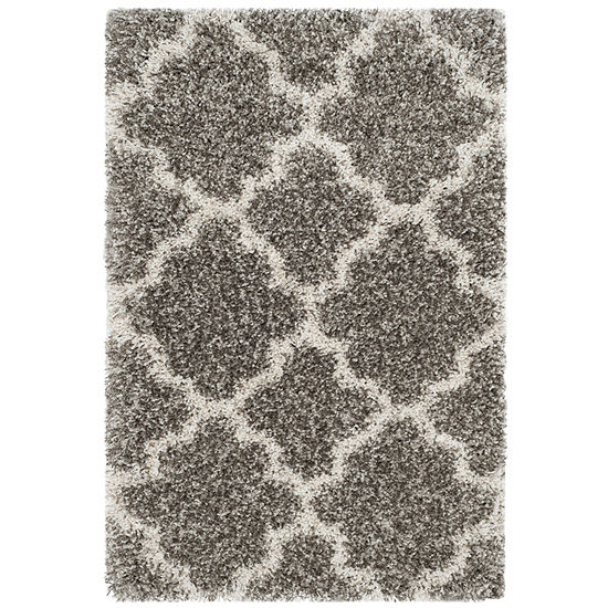 Safavieh Hudson Shag Collection Synthia Geometric Area Rug