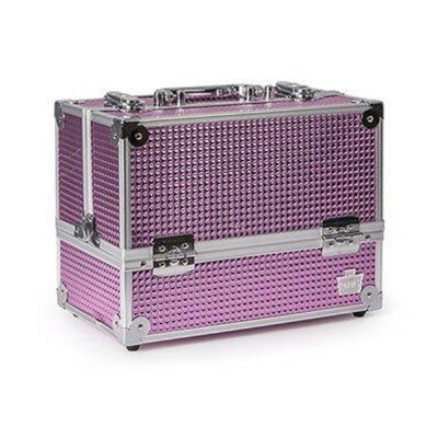 Caboodles Stylish Train Case Pink Bubble