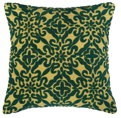 Rizzy Home Baptise Geometric Decorative Pillow