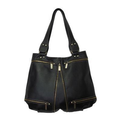 Amerileather Rila Zip Leather Bag