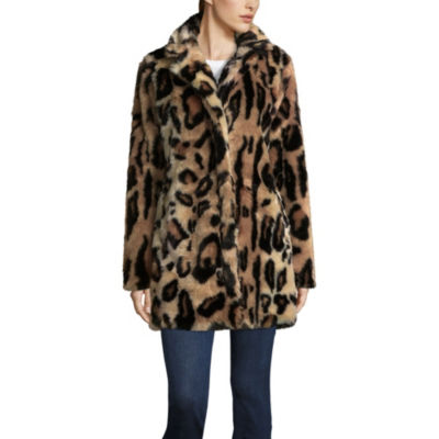Triple Star Heavyweight Faux Fur Coat