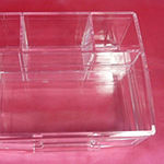 Caboodles 6 Compartment Drawer Tray Storage Bin