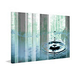 Meadow Painting Print on Wrapped Canvas