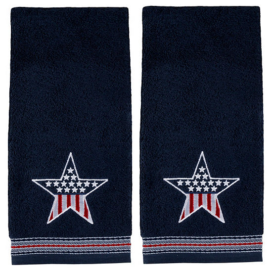 Saturday Knight Superstar 2-pc. Embellished Americana Hand Towel