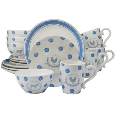 Certified International Urban Farmhouse 16-pc. Dinnerware Set