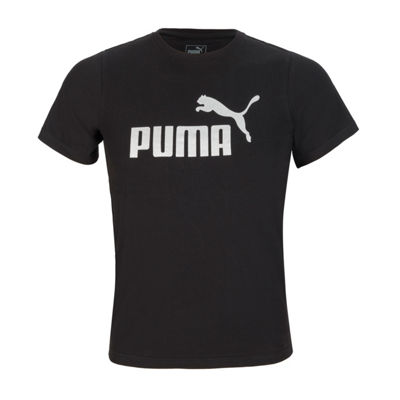 Puma Graphic T-Shirt-Big Kid Boys