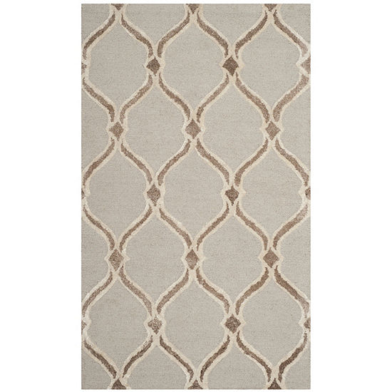 Safavieh Manchester Collection Loew Geometric Area Rug
