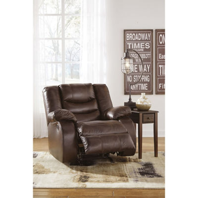 Signature Design By Ashley® Neverfield Leather Recliner
