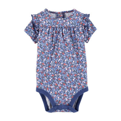 Oshkosh Ruffle Floral Bodysuit - Baby