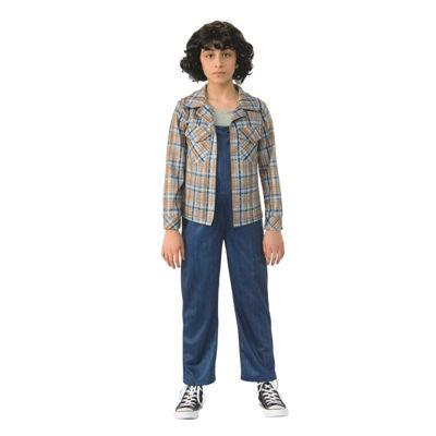 Stranger Things- Girls Eleven'S Plaid ShirtLarge