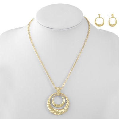 Monet Jewelry Gold Tone 2-pc. Jewelry Set